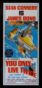 You Only Live Twice - Australian Movie Poster (xs thumbnail)