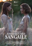 Sangailes vasara - Danish Movie Poster (xs thumbnail)