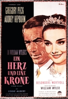 Roman Holiday - German Movie Poster (xs thumbnail)