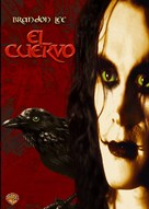 The Crow - Argentinian DVD movie cover (xs thumbnail)