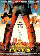The Cowboy Way - French Movie Poster (xs thumbnail)