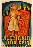 Germania anno zero - Argentinian Movie Poster (xs thumbnail)