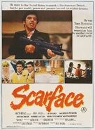 Scarface - Indian Movie Poster (xs thumbnail)