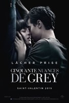 Fifty Shades of Grey - French Movie Poster (xs thumbnail)