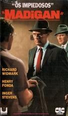 Madigan - Brazilian VHS movie cover (xs thumbnail)