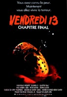 Friday the 13th: The Final Chapter - French Movie Poster (xs thumbnail)