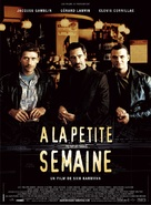 À la petite semaine - French Movie Poster (xs thumbnail)