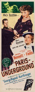 Paris Underground - Movie Poster (xs thumbnail)