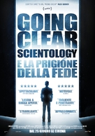 Going Clear: Scientology and the Prison of Belief - Italian Movie Poster (xs thumbnail)