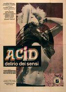 Acid - delirio dei sensi - Italian Movie Poster (xs thumbnail)