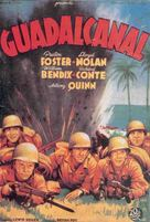 Guadalcanal Diary - Spanish Movie Poster (xs thumbnail)