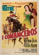 The Comancheros - Italian Movie Poster (xs thumbnail)