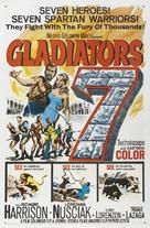 Siete espartanos, Los - Movie Poster (xs thumbnail)