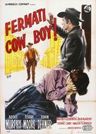 Cast a Long Shadow - Italian Movie Poster (xs thumbnail)