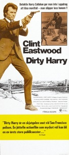 Dirty Harry - Swedish Movie Poster (xs thumbnail)