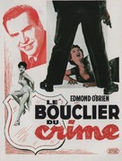 Shield for Murder - French Movie Poster (xs thumbnail)
