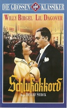 Schlußakkord - German VHS cover (xs thumbnail)