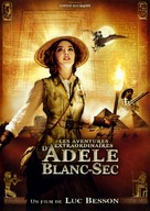 Les aventures extraordinaires d'Adèle Blanc-Sec - French Movie Cover (xs thumbnail)