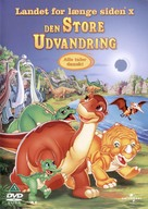 The Land Before Time X: The Great Longneck Migration - Danish DVD cover (xs thumbnail)