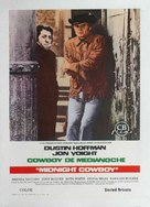 Midnight Cowboy - Spanish Movie Poster (xs thumbnail)
