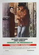 Midnight Cowboy - Spanish Movie Poster (xs thumbnail)