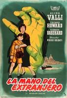 La mano dello straniero - Spanish Movie Poster (xs thumbnail)