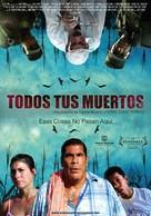 Todos tus muertos - Colombian Movie Poster (xs thumbnail)