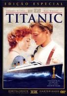 Titanic - Brazilian DVD cover (xs thumbnail)