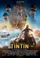 The Adventures of Tintin: The Secret of the Unicorn - Portuguese Movie Poster (xs thumbnail)
