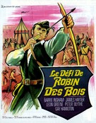 A Challenge for Robin Hood - French Movie Poster (xs thumbnail)