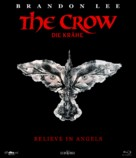 The Crow - German Blu-Ray movie cover (xs thumbnail)