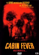 Cabin Fever - Swedish DVD movie cover (xs thumbnail)