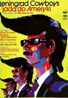Leningrad Cowboys Go America - Polish Movie Poster (xs thumbnail)