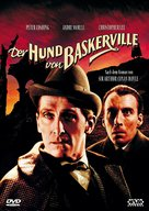 The Hound of the Baskervilles - German Movie Cover (xs thumbnail)