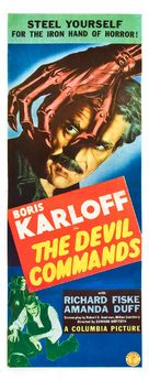 The Devil Commands - Movie Poster (xs thumbnail)