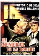 Il generale della Rovere - Belgian Movie Poster (xs thumbnail)