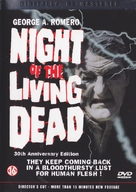 Night of the Living Dead - Belgian DVD movie cover (xs thumbnail)