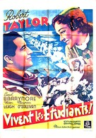 A Yank at Oxford - French Movie Poster (xs thumbnail)
