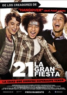 21 and Over - Argentinian Movie Poster (xs thumbnail)