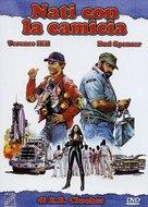 Nati con la camicia - Italian DVD cover (xs thumbnail)