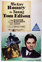 Young Tom Edison - Australian Movie Poster (xs thumbnail)