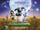 Shaun the Sheep Movie: Farmageddon - British Movie Poster (xs thumbnail)