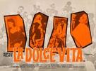 La dolce vita - British Movie Poster (xs thumbnail)