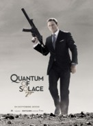 Quantum of Solace - French Movie Poster (xs thumbnail)