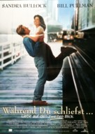 While You Were Sleeping - German Movie Poster (xs thumbnail)
