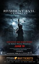 Resident Evil: Vendetta - Movie Poster (xs thumbnail)