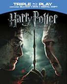 Harry Potter and the Deathly Hallows: Part II - Blu-Ray movie cover (xs thumbnail)
