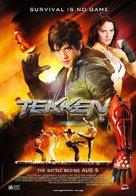 Tekken - Malaysian Movie Poster (xs thumbnail)