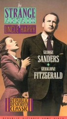 The Strange Affair of Uncle Harry - VHS cover (xs thumbnail)