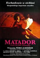 Matador - Polish Movie Poster (xs thumbnail)